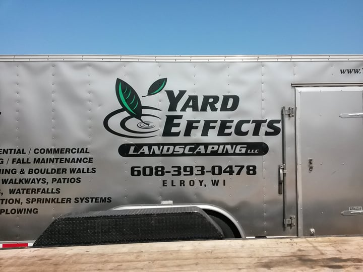 Yard Effects Landscaping: 1626 Academy St, Elroy, WI