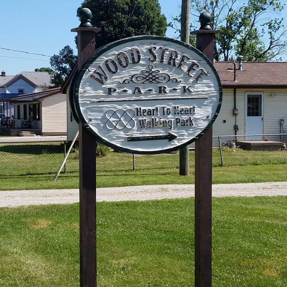 Wood Street Park: 1030 S Wood St, Brookston, IN