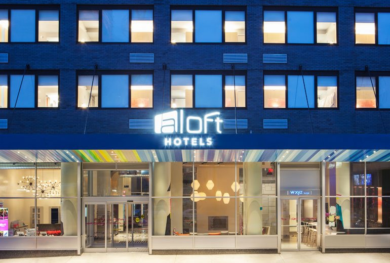 Aloft Long Island City Manhattan View