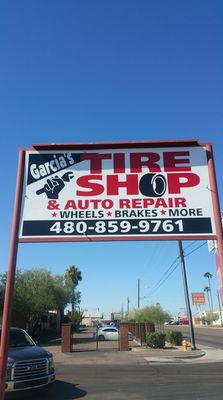Garcias Tire Shop >> Garcia S Tireshop Auto Repair Tires 3945 W Indian School Rd