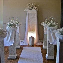 Wedding pillars and petals 19 photos party equipment rentals photo of wedding pillars and petals new lenox il united states winter solutioingenieria Images