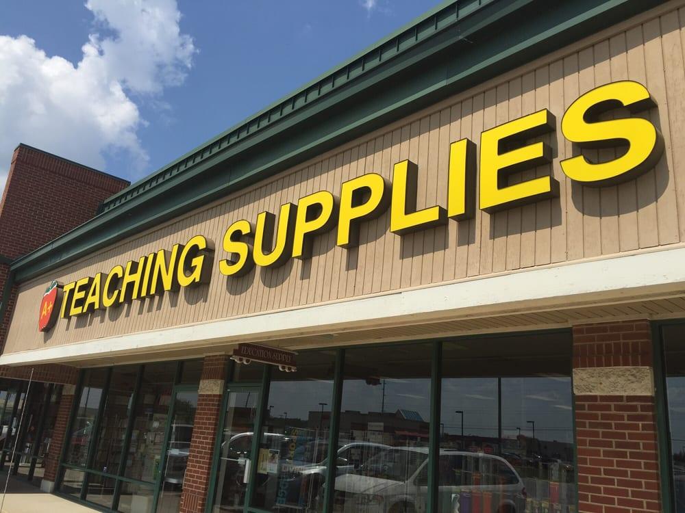 A Plus Teaching Supplies: 7840 E US Hwy 36, Avon, IN