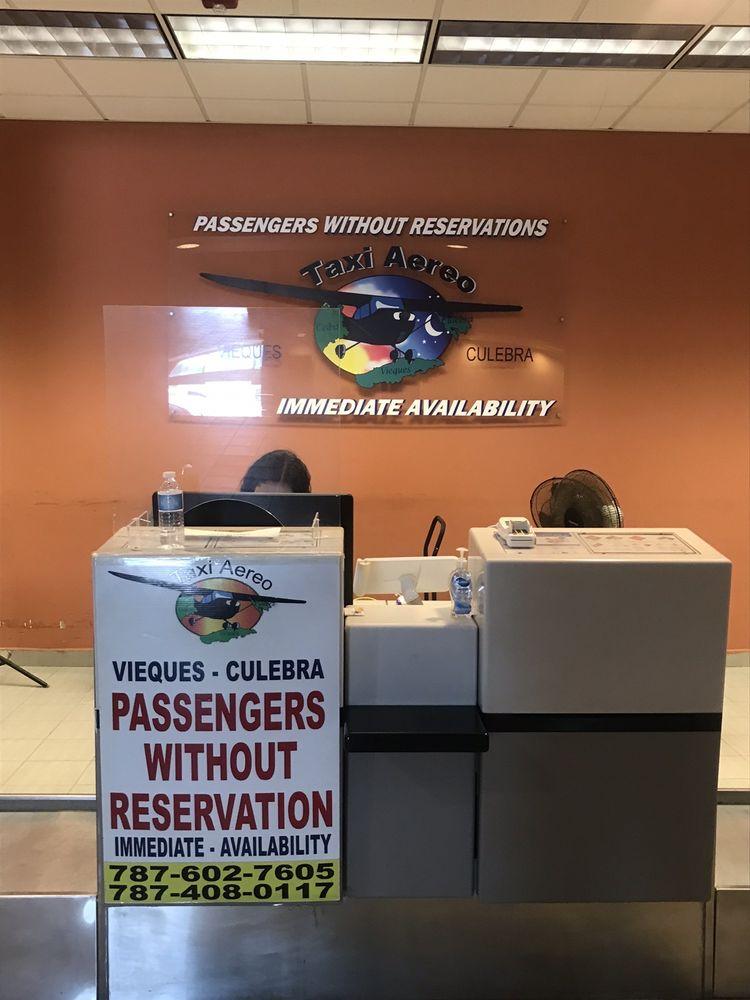 Taxi Aéreo: Aeropuerto Jose Aponte de la Torre, Ceiba, PR