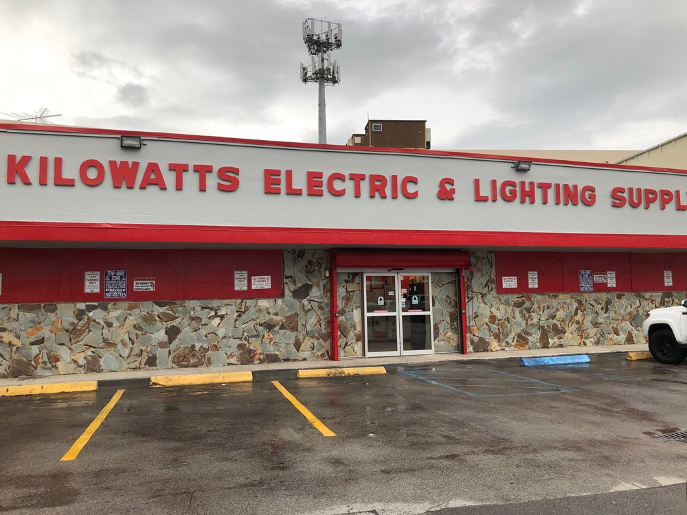 Killowatt Electric And Lighting Fixtures Equipment 6790 Sw 81st Ter Miami Fl Phone Number Yelp