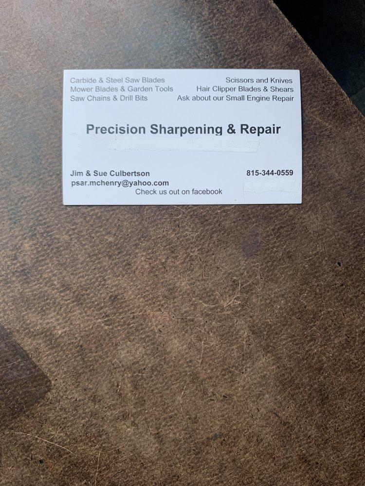 Precision Sharpening & Repair: 8718 W Sunset Dr, Wonder Lake, IL