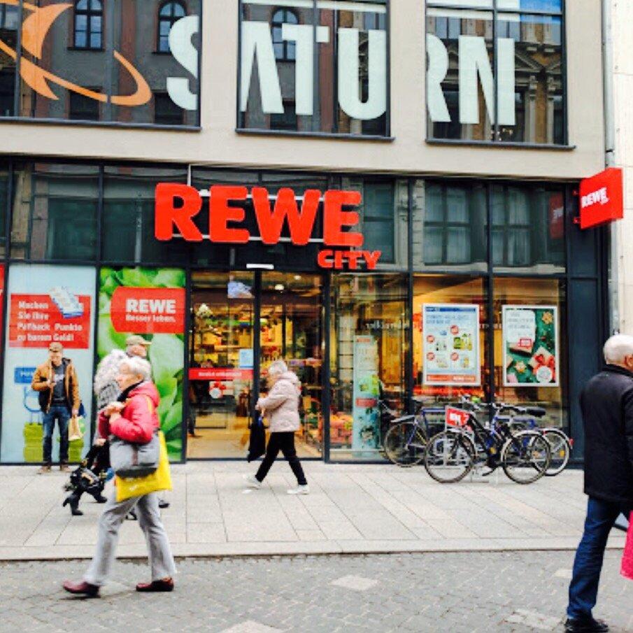 REWE - Getränkemarkt - Leipziger Str. 94, Halle (Saale), Sachsen ...
