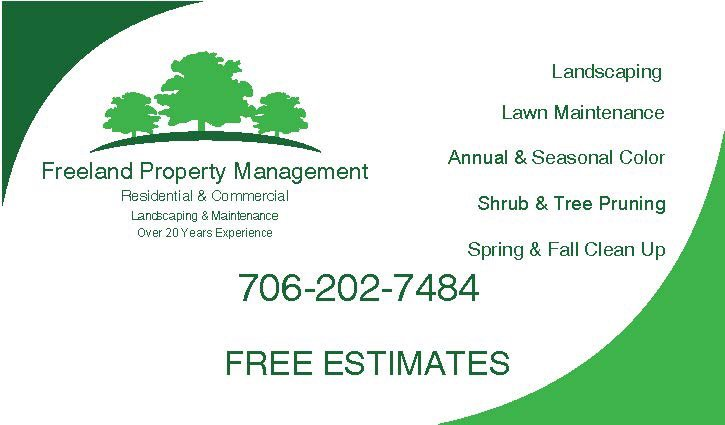 Freeland Property Management: Comer, GA