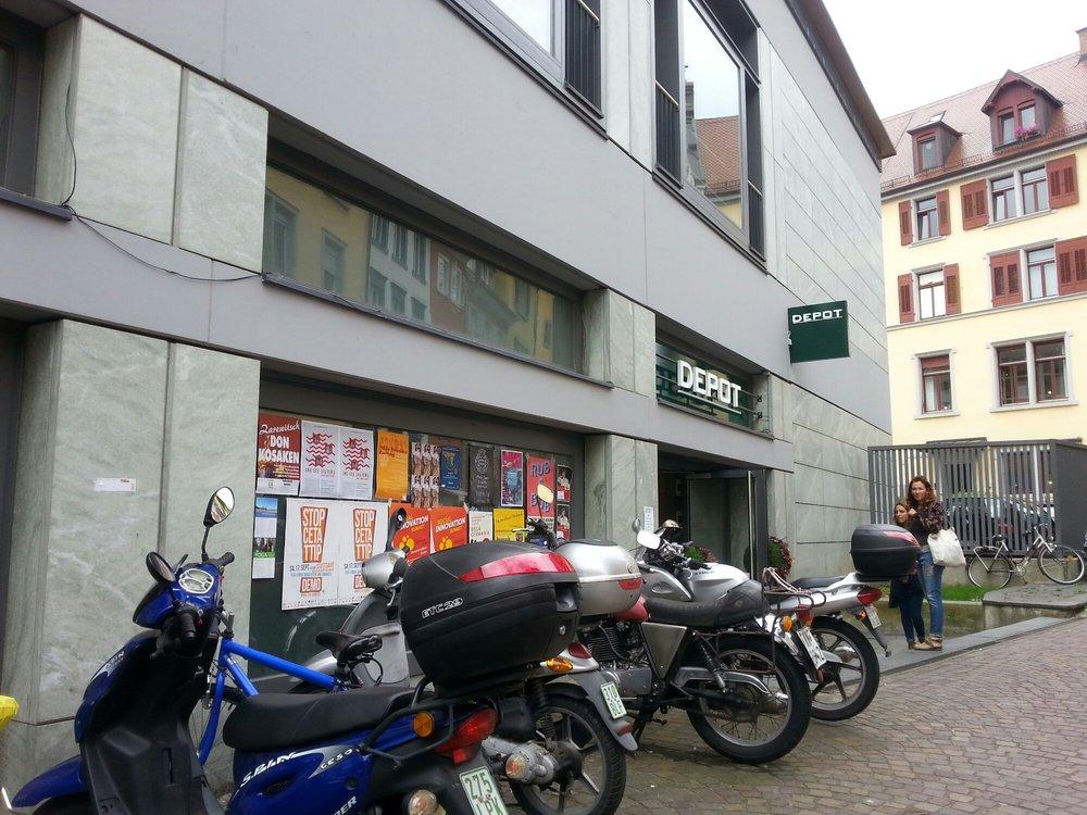 Depot geschlossen wohnaccessoires bodanstr 1 for Depot konstanz