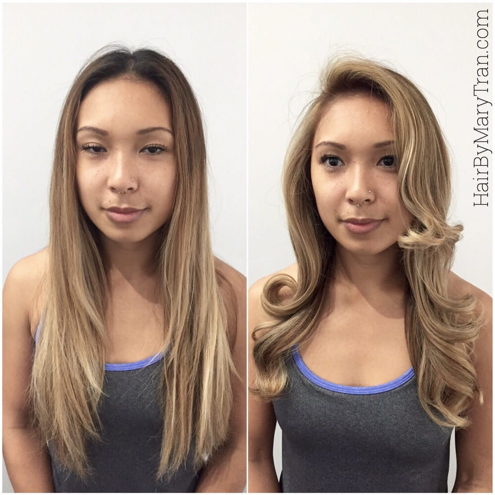 Blonde root touch up balayage highlights and haircut yelp photo of mare santa monica ca united states blonde root pmusecretfo Gallery