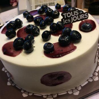 Tous Les Jours Blueberry Yogurt Cake