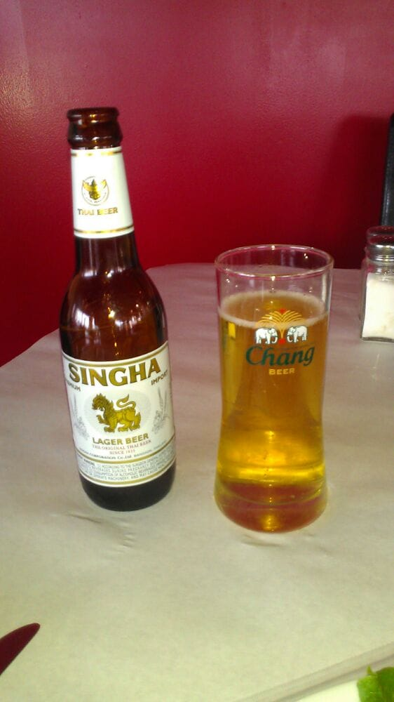 Singha lager thai beer yelp for Anothai cuisine cypress