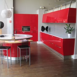 Photo Of Scavolini By Cucina Moda   Birmingham, MI, United States. Red  Kitchen