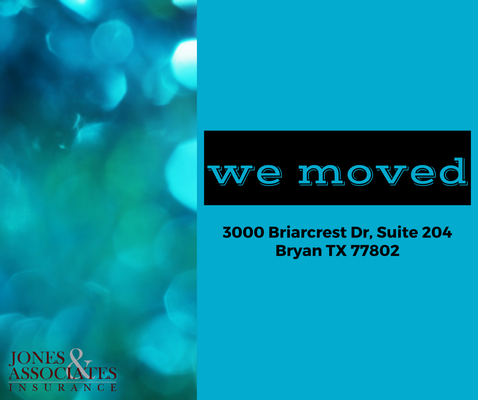 Jones associates insurance obter or amento seguros for 1119 terrace drive bryan tx