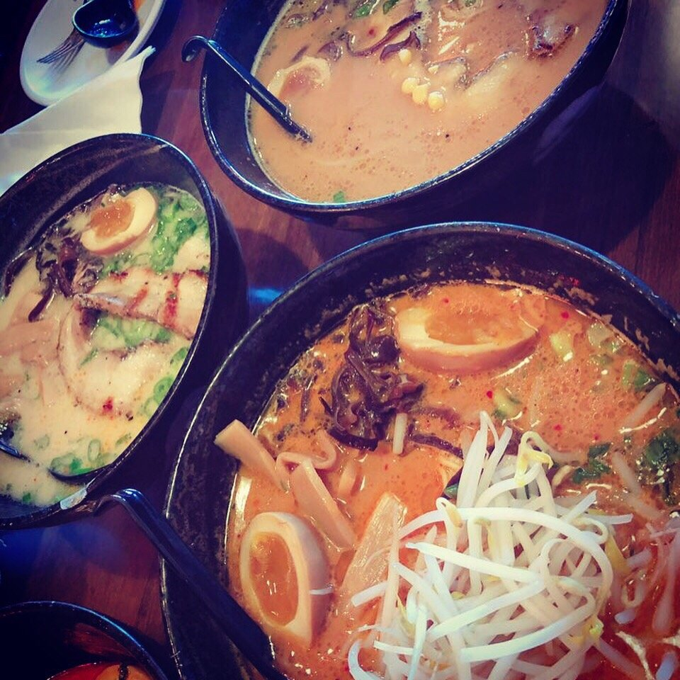 Food from Haru Ramen