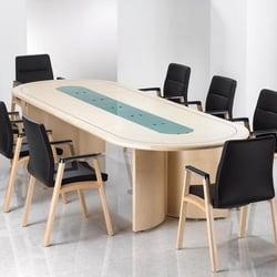 Photo Of Floyds Office Furniture Farnborough Hampshire United Kingdom Ambus Meeting Table