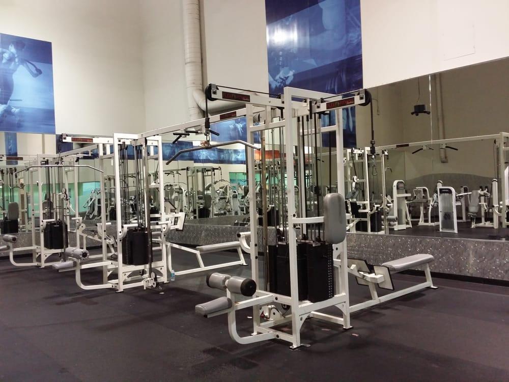 The empty weight machine room yelp