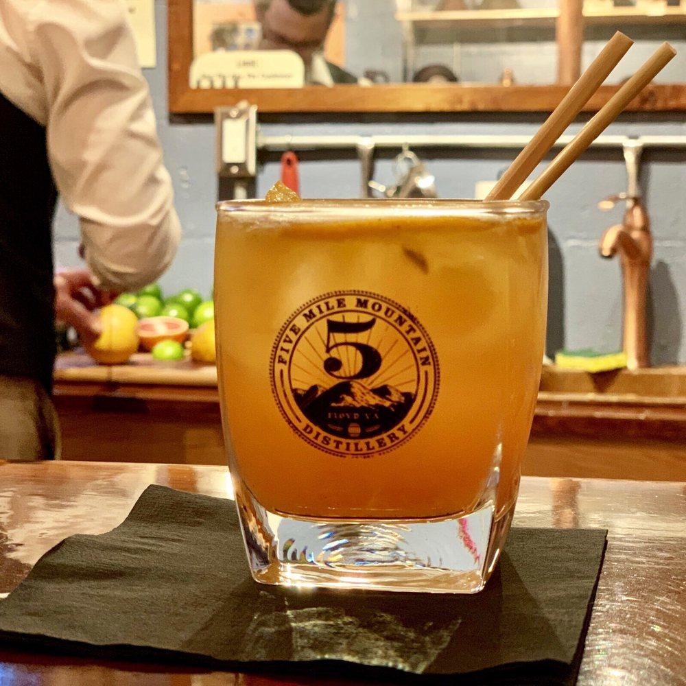 Five Mile Mountain Distillery: 489 Floyd Hwy S, Floyd, VA