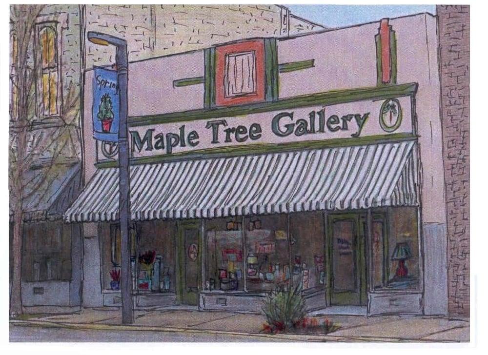 Maple Tree Gallery: 225 W Main St, Danville, KY