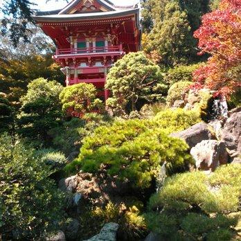 Foto Från Golden Gate Park   San Francisco, CA, USA. Hagiwara Japanese  Garden