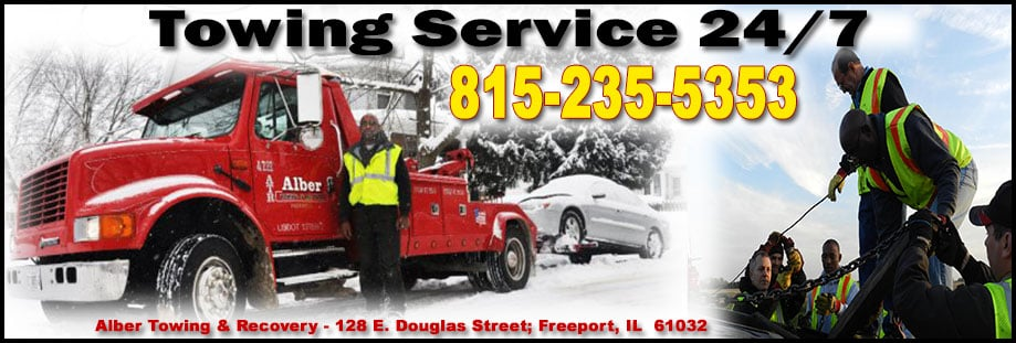 Alber Towing & Auto Repair: 128 E Douglas St, Freeport, IL
