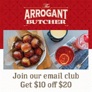 Food from The Arrogant Butcher