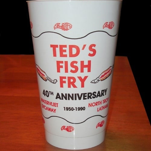 1990 vintage drink cup yelp for Ted s fish fry menu