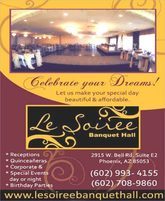 le soiree banquet hall closed party event planning 2915 w