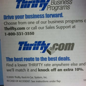 Thrifty Car Rental Providence