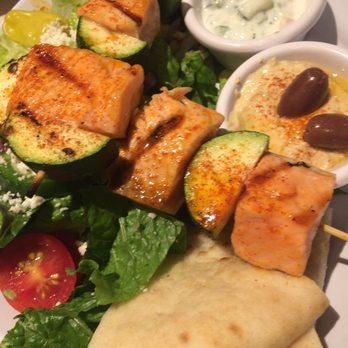 Zoes Kitchen Salmon Kabob zoes kitchen - 36 photos & 53 reviews - mediterranean - 410