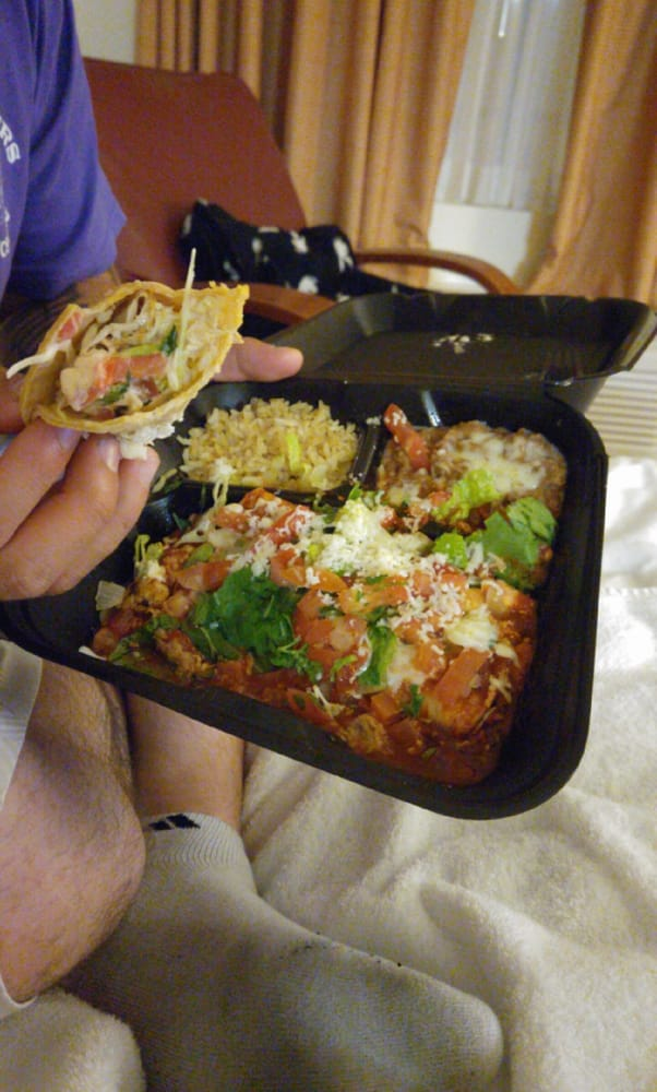 Lobster enchilada and fish taco - Yelp