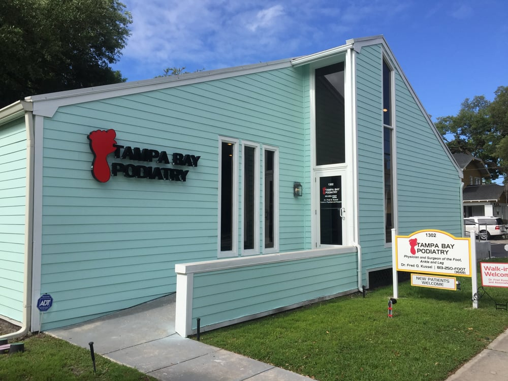 Tampa Bay Podiatry Podiatrists 1302 W Swann Ave Hyde Park