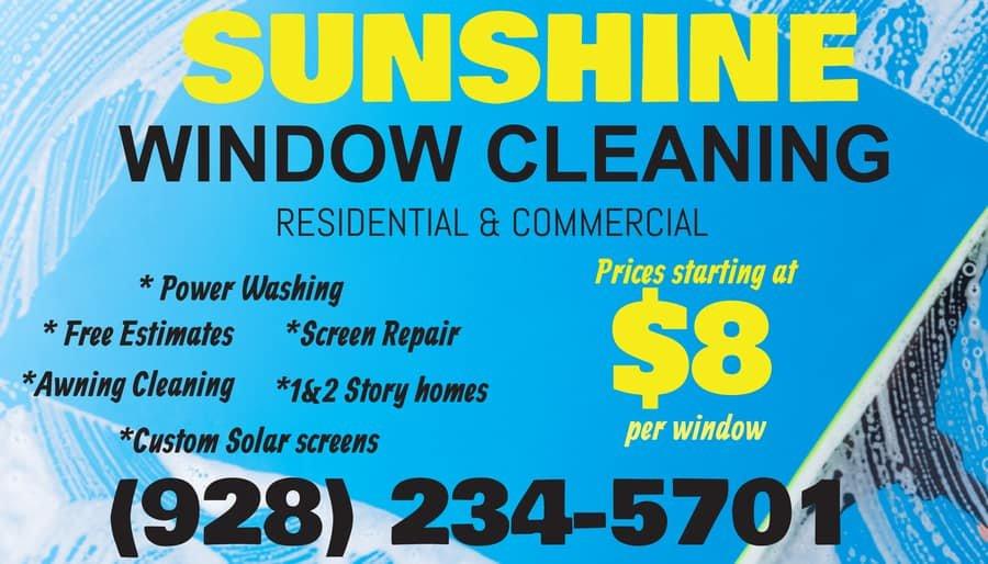 Sunshine window Cleaning: 798 Brill Dr, Bullhead City, AZ