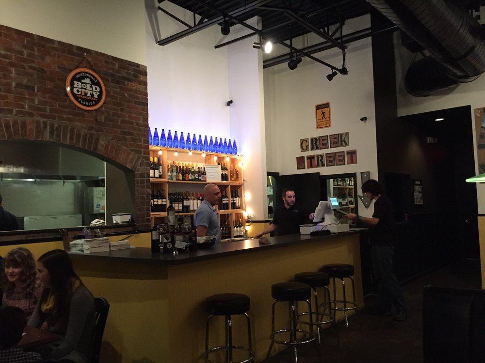 Greek Street Kitchen And Bar Jacksonville Fl
