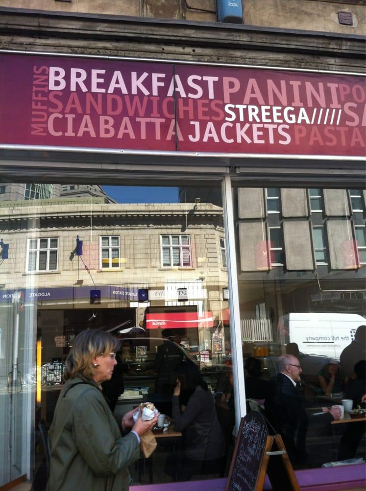 Streega cafe cafeter as 74 aldgate high street - Cyberdog london reino unido ...