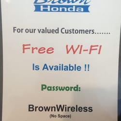 Brown Honda Amarillo >> Brown Honda 19 Reviews Auto Repair 4200 S Georgia St Amarillo