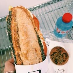 Photo de La Pâtisserie Cyril Lignac , Paris, France. Sandwich lunch combo  for 9.5