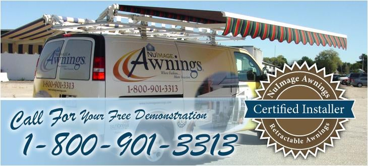 Free Retractable Awning Demonstrations Nuimage Awning