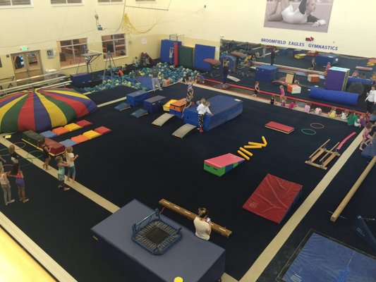 Paul Derda Rec Center Gymnastics