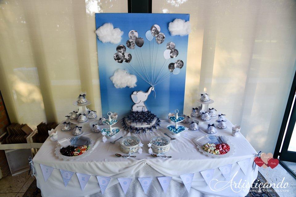 Favoloso Confetti e caramelle per Battesimo a tema elefantino - Yelp RV86