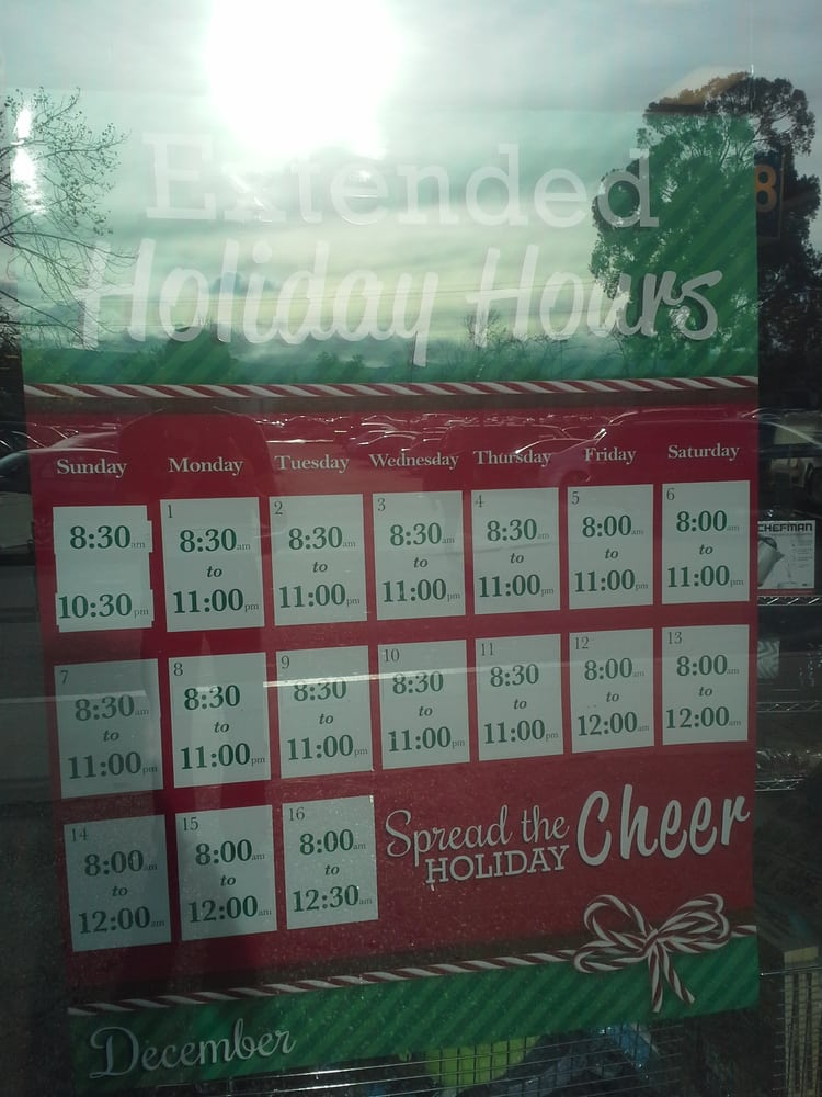 Extended Holiday Hours!! - Yelp