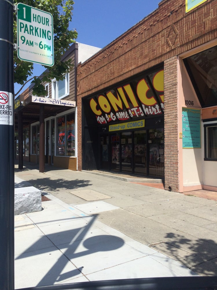 Stand-Up Comics: 10020 San Pablo Ave, El Cerrito, CA