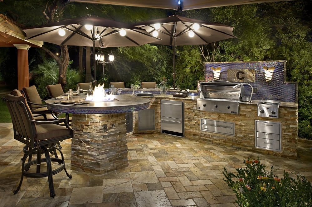 A Gorgeous Outdoor Entertainment Area Let All Valley Bbq