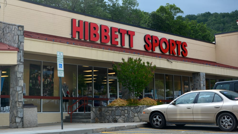 Hibbett Sports: 83 Forest Gate Dr, Pisgah Forest, NC