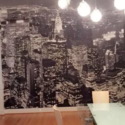 Photo Of Victors Wallpaper Installation Painting