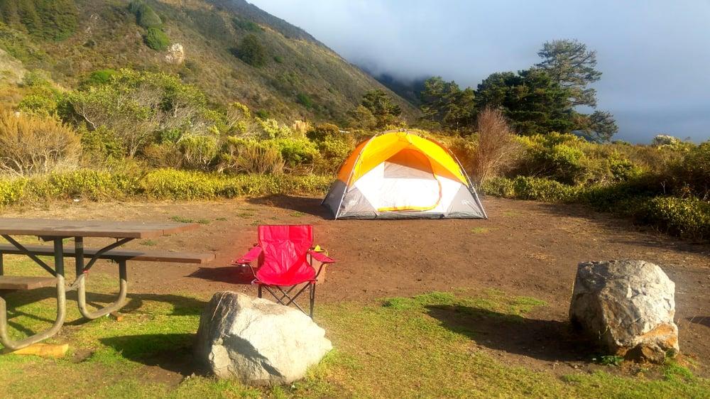 Kirk creek campground 253 foto e 125 recensioni for Big sur cabin e campeggi