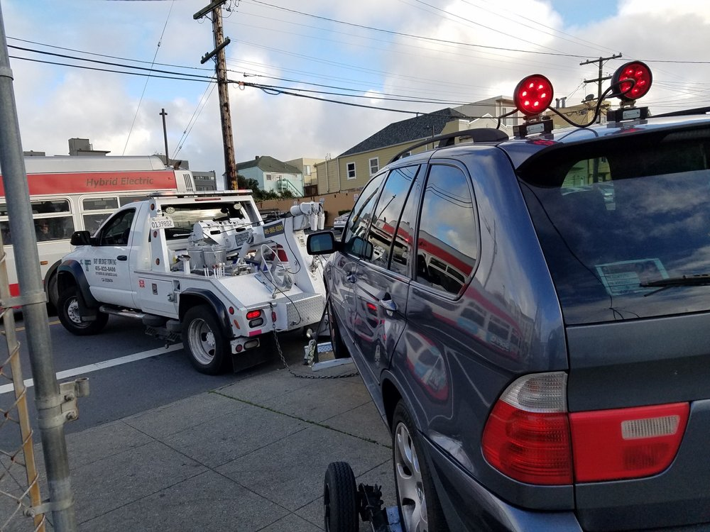 Towing business in San Francisco, CA