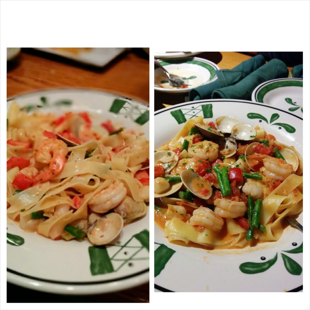 The Pappardelle Pescatore from Glendale Olive Garden on ...
