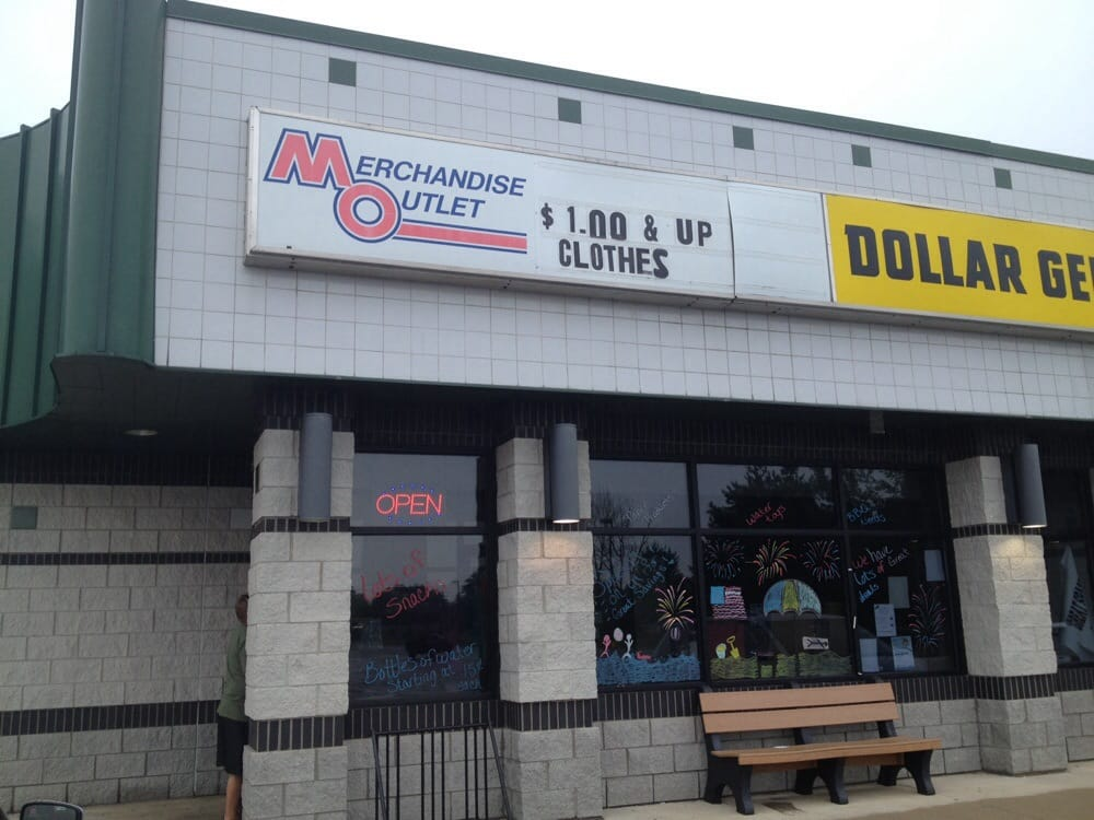 Merchandise Outlet: 1122 N State St, Gladwin, MI