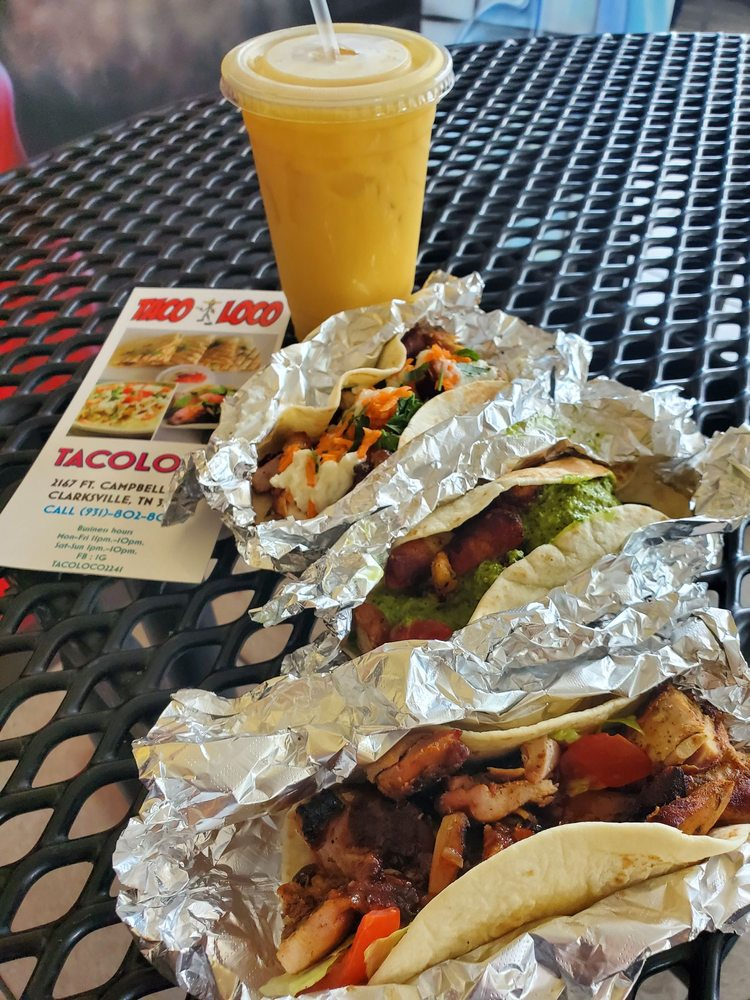 Food from Taco Loco
