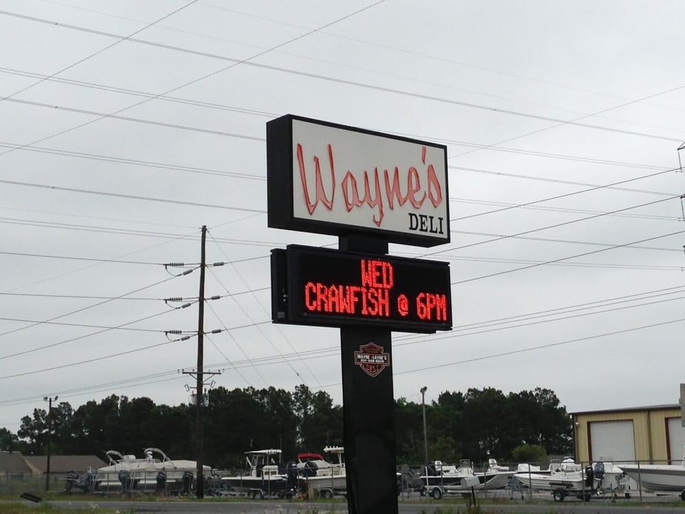 Wayne & Layne's Deli: 3906 Hwy 27 S, Sulphur, LA